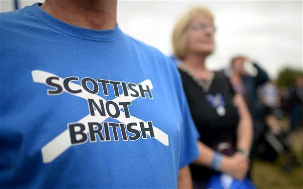 Scottish not English