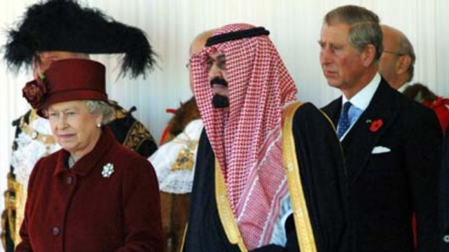 British and Saudi Royals