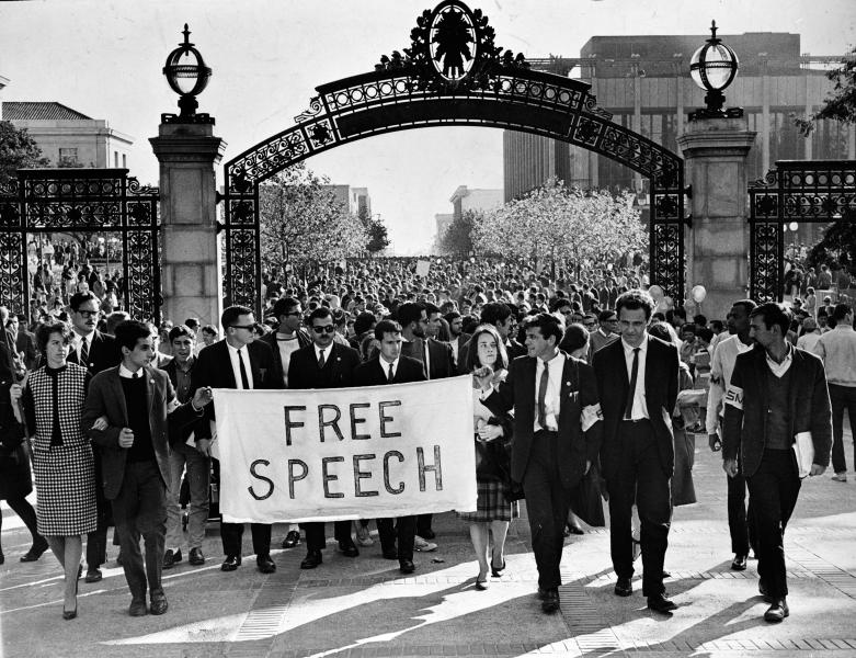 Free speech march